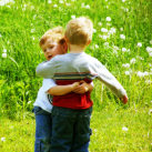 Kids hugging (2)