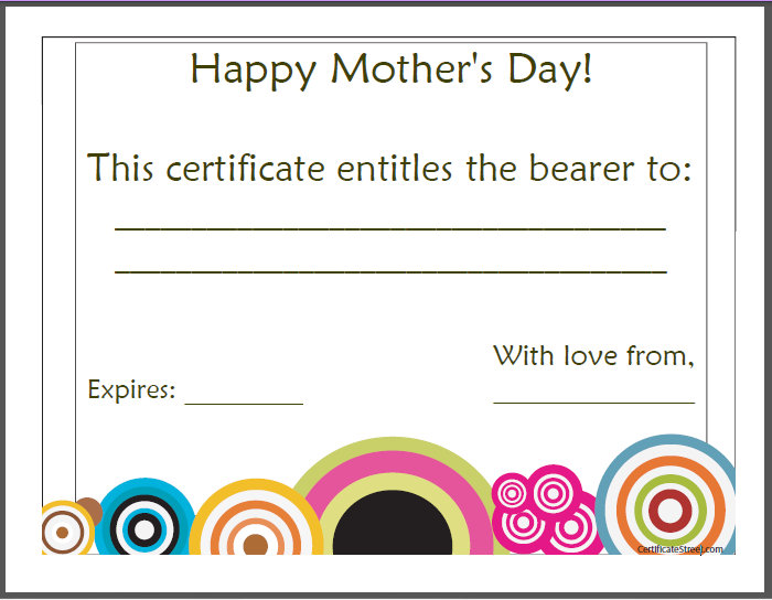 s day gift certificate template