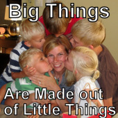 Big Things are Made out of Little Things
