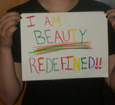 I am beauty redefined.