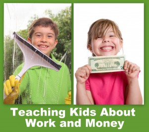teaching kids about work and money