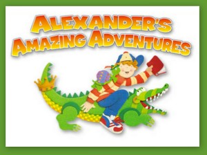 Alexander's Amazing Adventures button