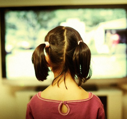 Telegraph - Image Children under 5 not watching TV alone