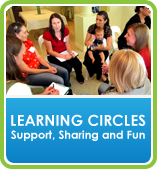 Learning Circles Button