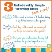 Mini-Podcast: Three Unbelievably Simple Parenting Ideas (that Work!)