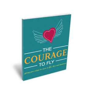 Courage to Fly Book Cover 3D