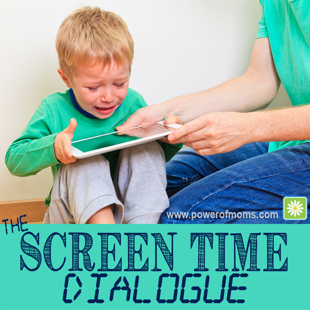 Is screen time scream time at your house? www.powerofmoms.com