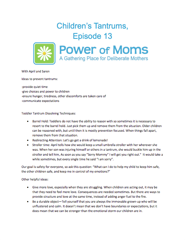 Episode13.Children'sTantrums.powerofmoms.com