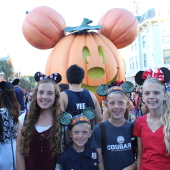 Halloween at Disneyland (A Power of Moms Review)