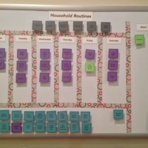 How will your kids chart their chore course? www.powerofmoms.com