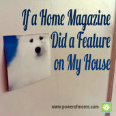 If a Home Magazine Did a Feature on My House