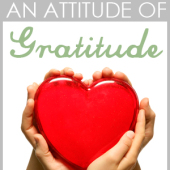 Creating an Attitude of Gratitude: Episode 85