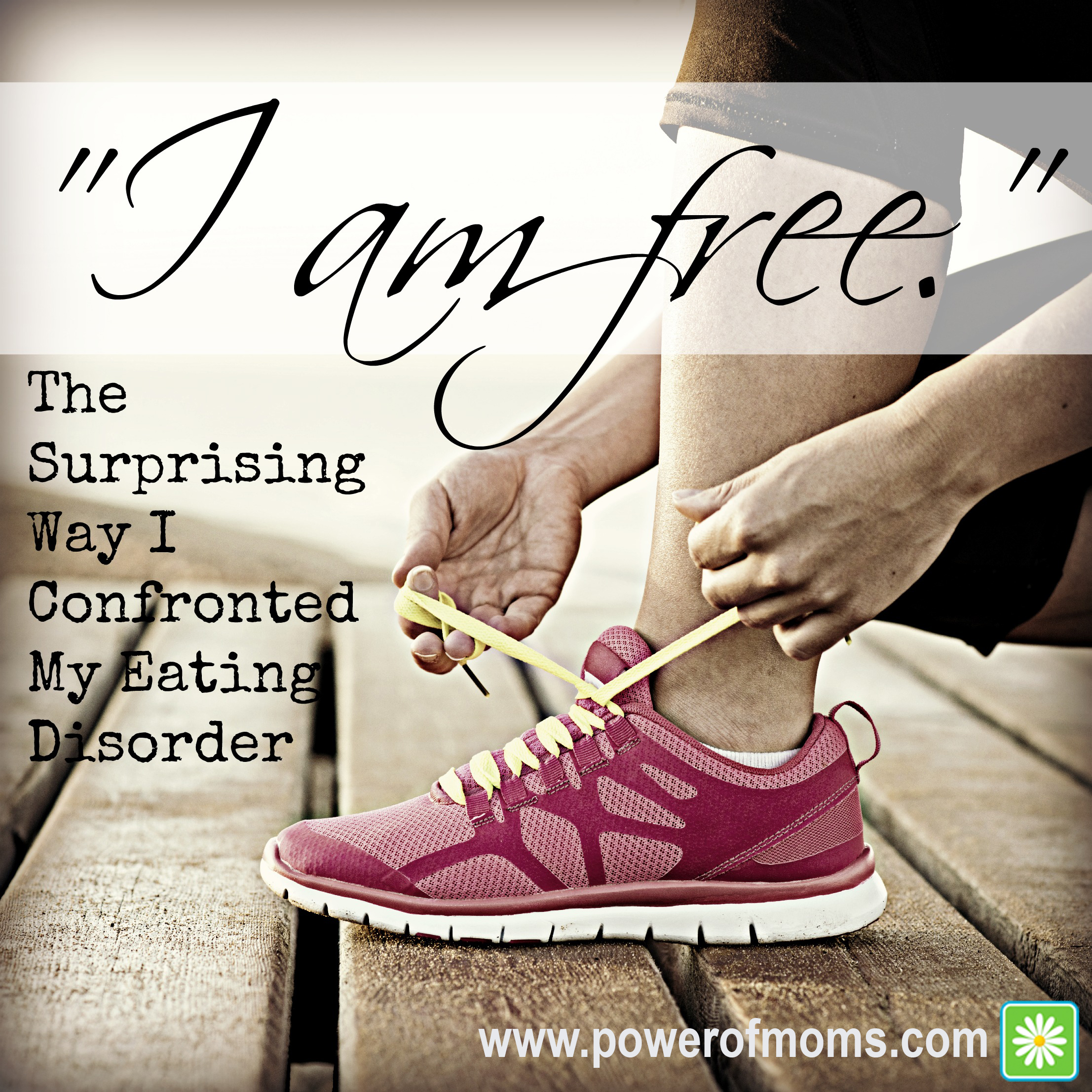 A hopeful message for those struggling with eating disorders. www.powerofmoms.com