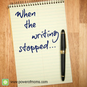 When the Writing Stopped