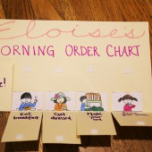 Simple Morning Routine Charts