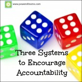 Three Systems to Encourage Accountability