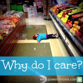 Why Do I Care? Keeping Public Tantrums in Perspective