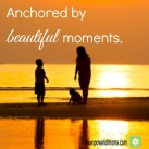 What are the moments that ground you? www.powerofmoms.com