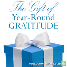 Be thankful all year long. www.powerofmoms.com