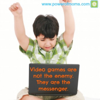 It's not the games, it's the skills. www.powerofmoms.com