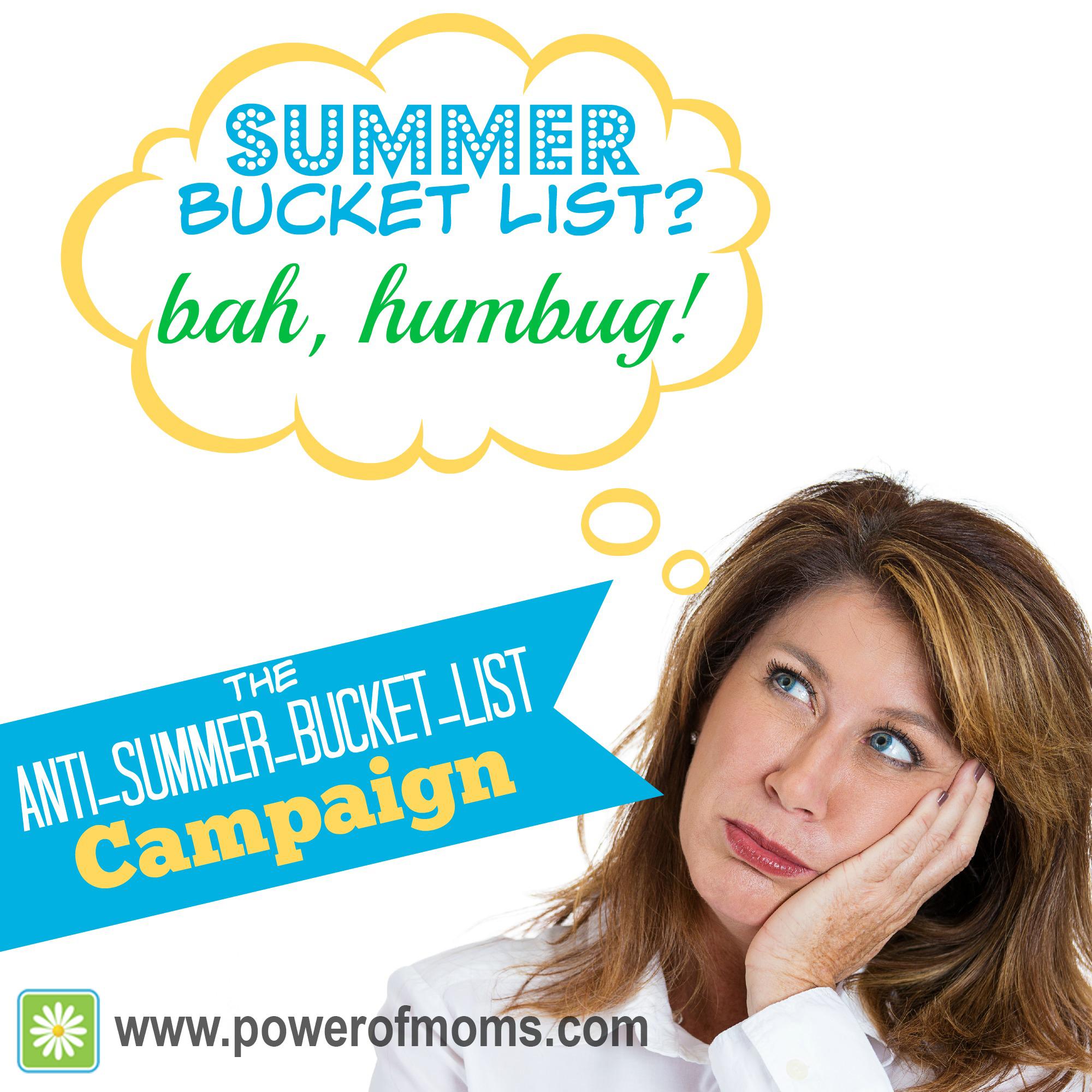 Anti Summer Bucket List