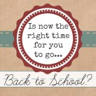 Start gathering your school supplies, Mom. You can do it! www.powerofmoms.com