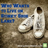 Who Wants to Live on Stinky Shoe Lane?
