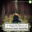 Can't see the forest for the trees? Tips for rocking that parenting thing. www.powerofmoms.com