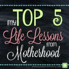 Lessons only Motherhood can teach you. www.powerofmoms.com
