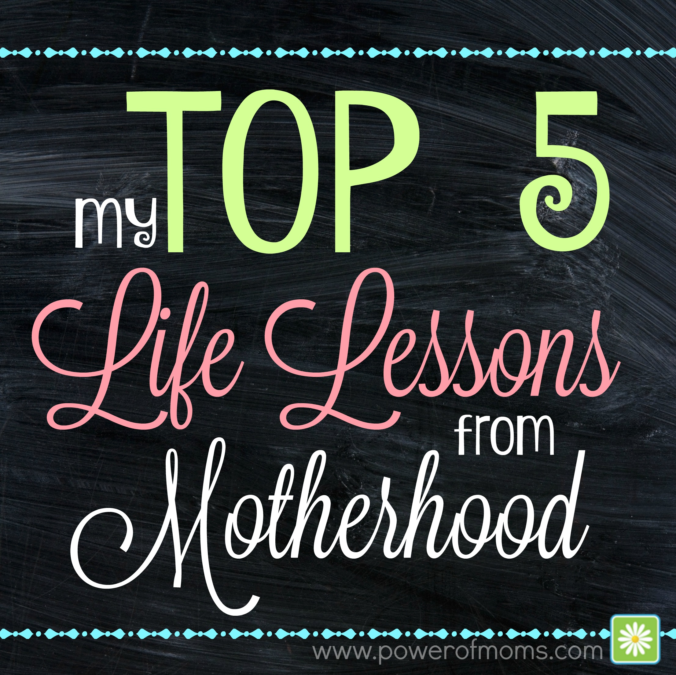my top 5 life lessons