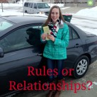 What's more important--rules or relationships? www.powerofmoms.com