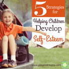 Children are our future leaders. We can better prepare them by helping build their self-esteem. www.powerofmoms.com