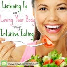 You can learn to be an intuitive eater. www.powerofmoms.com