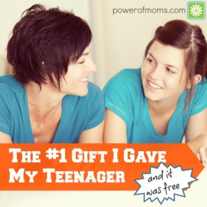 the no. 1 gift i have my teenager