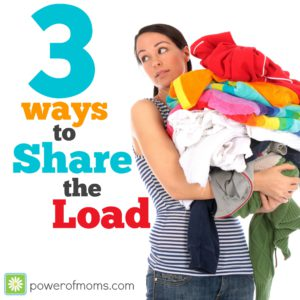3 ways to share the load