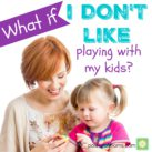 Playing with your kids doesn't come easy? Here are some tips that help. powerofmoms.com