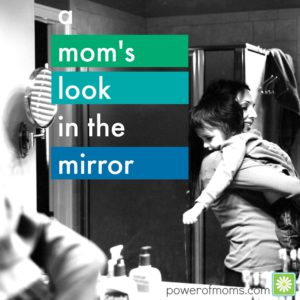 moms look in mirror blues cate