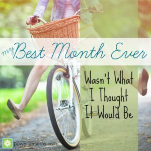 my best month ever