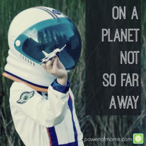 on a planet not so far away TEXT