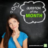 Question of the Month: How Do You Guide Your Children to Set & Achieve Goals?